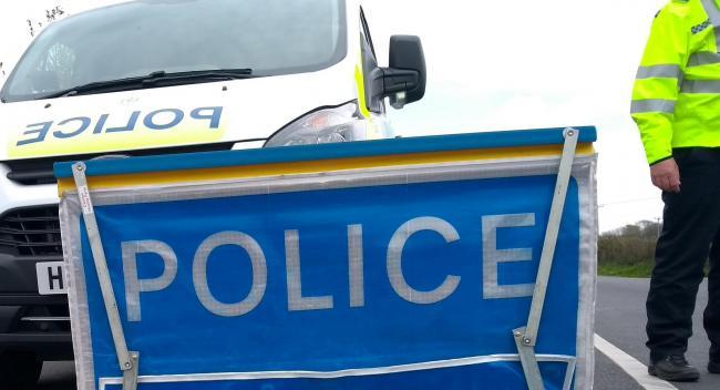 Rush-hour accident blocks A12