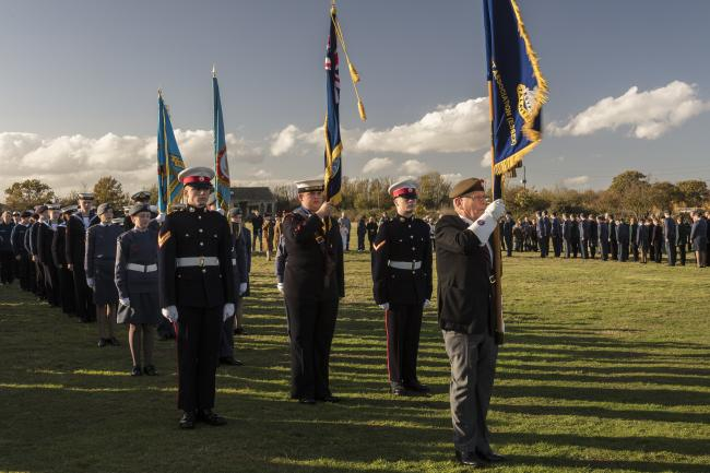 The March on the Standards for Armed Forces Day. Photot by David Davies