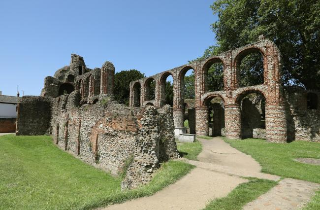 Site - St Botolph's Priory