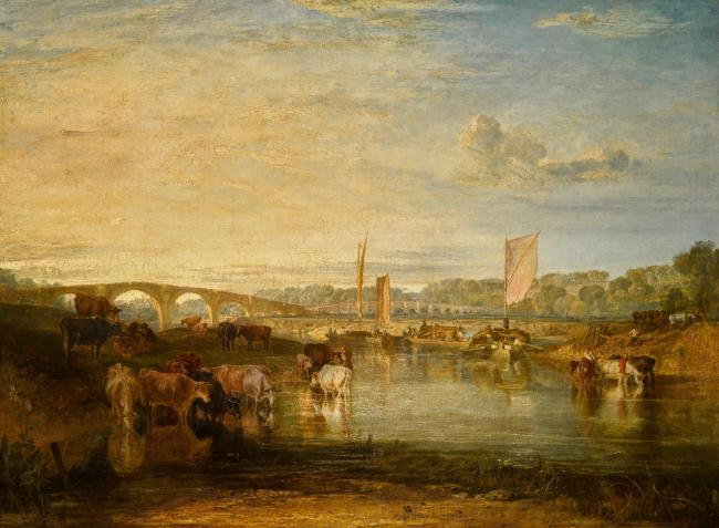 Admired - Walton Bridges by JWM Turner. Image courtesy of Sotheby's