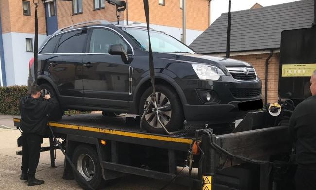 Man fined and car seized after CCTV catches flytipping