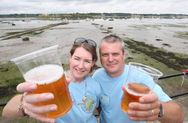 Ales and ciders to flow at beer festival
