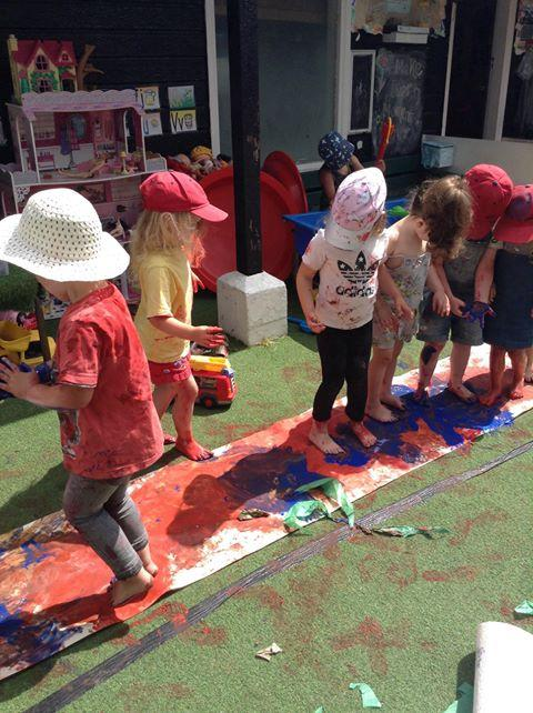 Children from Watership Downs Nursery playing