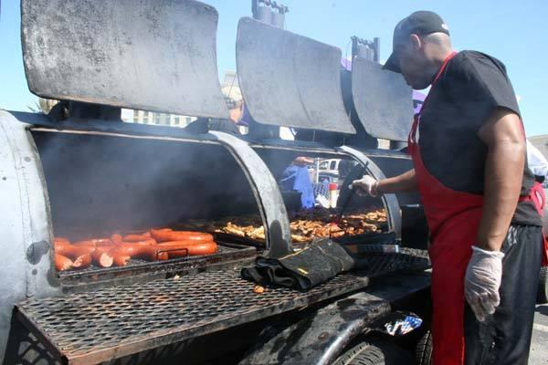 FLAME GRILLED: Barbecue experts will be giving demonstrations and tasters of cooking methods at the Maldon Smoke and Fire Festival in Promenade Park