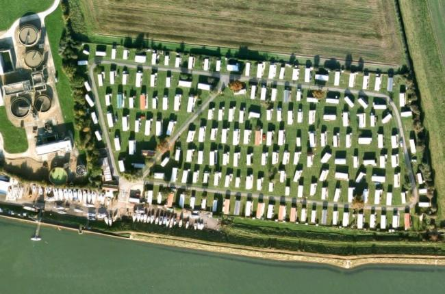 ALL YEAR: Sea End Caravan Park in Belvedere Road, Burnham, wants to stay open 12 months a year