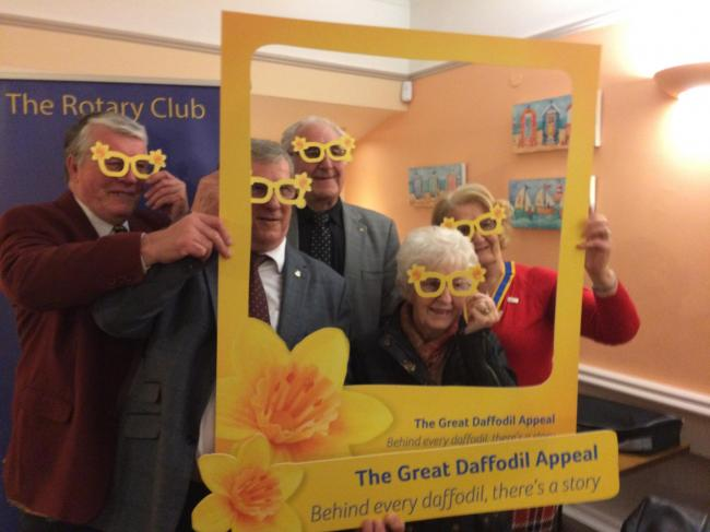 Maldon Rotary Club taking part in last year's Great Daffodil Appeal