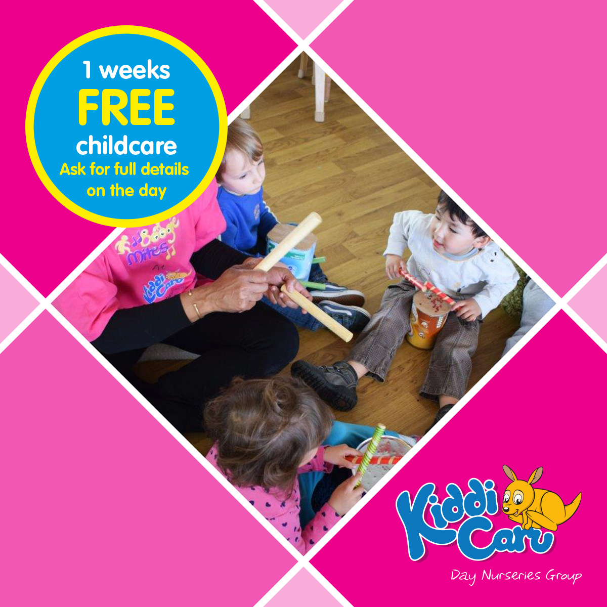Childcare Open Event at Kiddi Caru Day Nursery and Preschool in Harlow