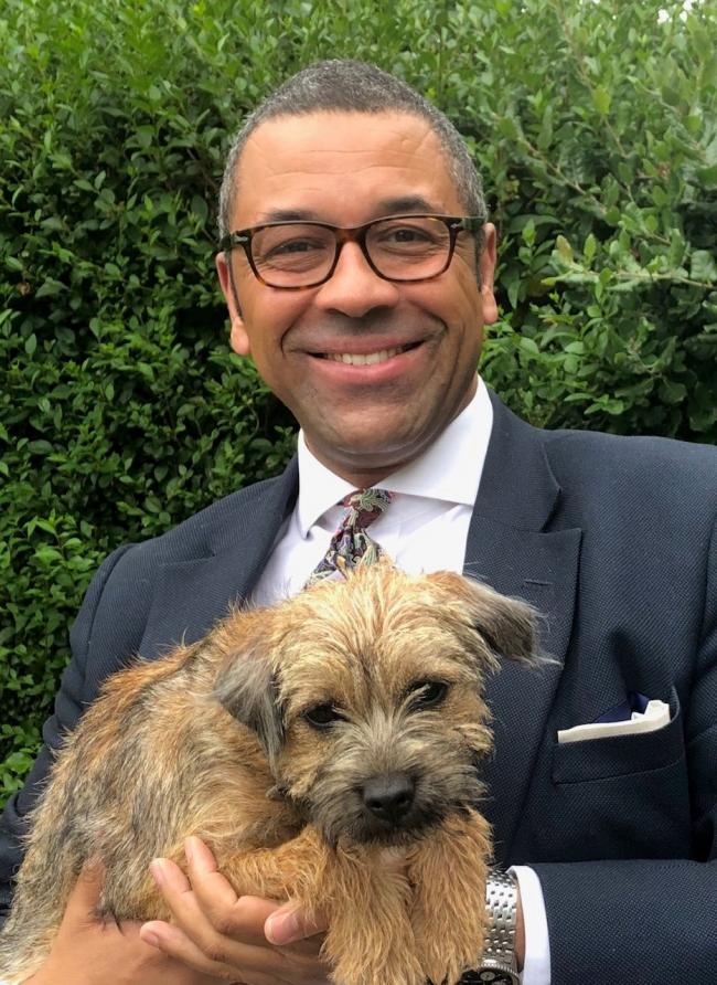 James Cleverly's pooch Coco is up for Westminster Dog of the Year