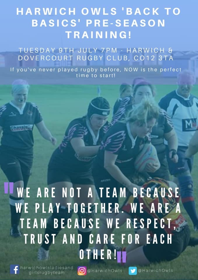 Harwich & Dovercourt Owls ladies rugby