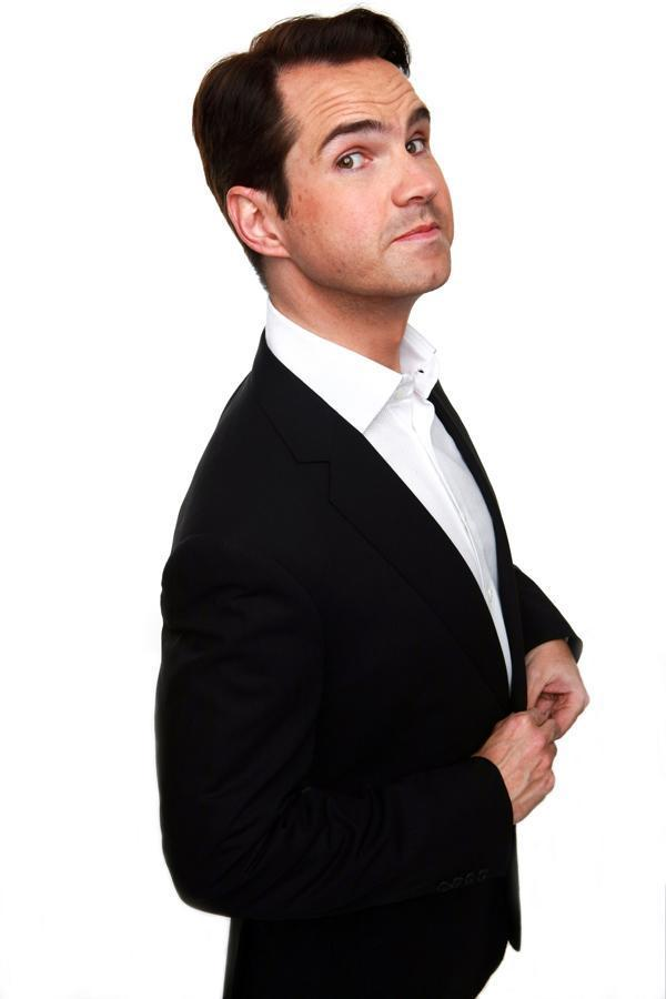 FUNNY MAN: Jimmy Carr is a regular in Clacton