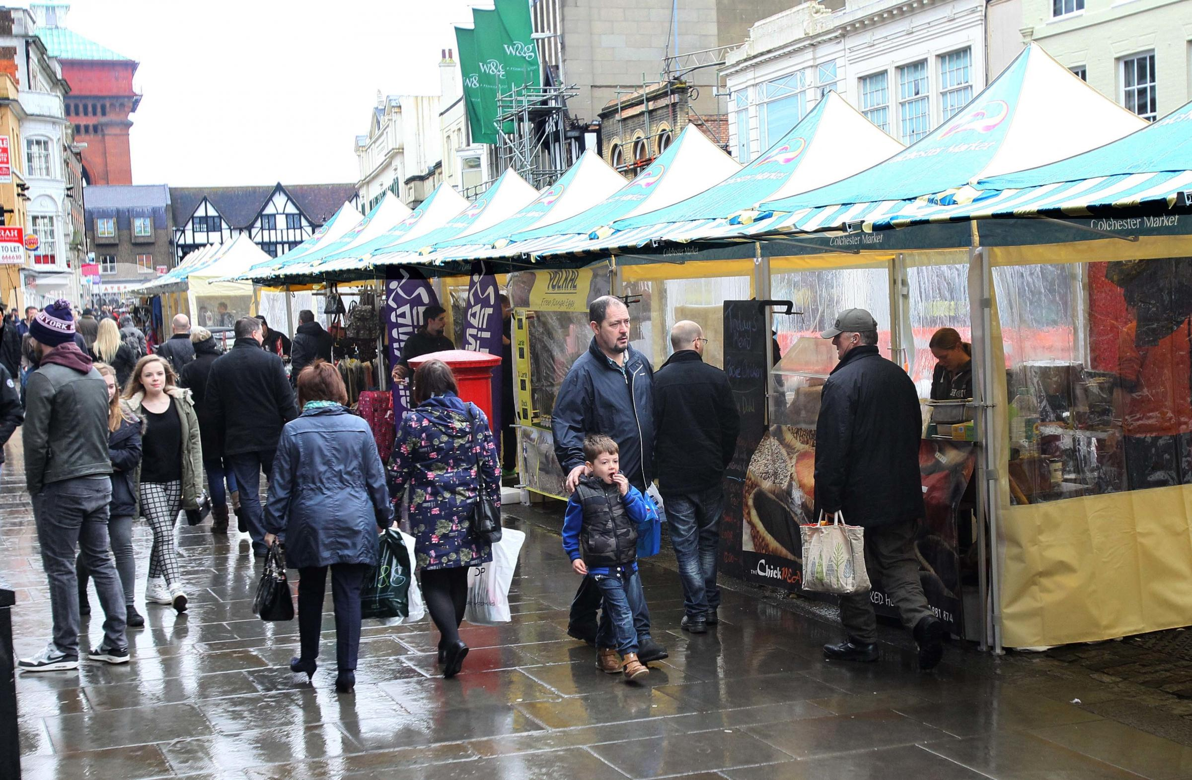 Colchester Market Could Be Moved From High Street To Revive It Maldon And Burnham Standard