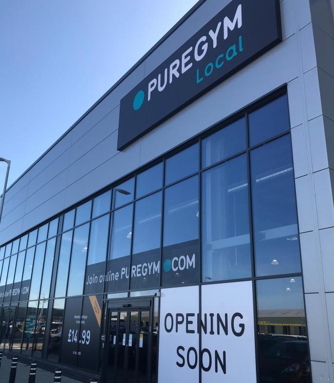Pure gym southend