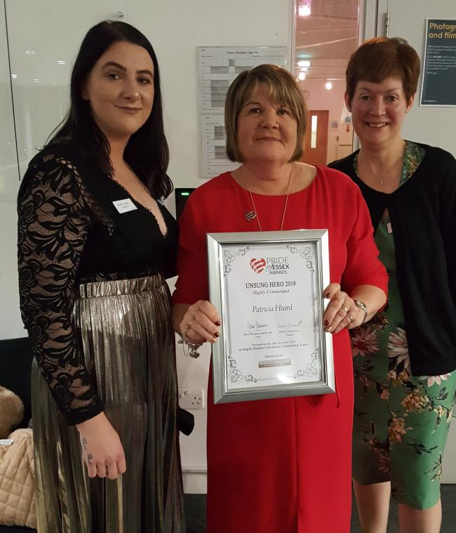 Village stalwart Patricia honoured for massive fundraising work