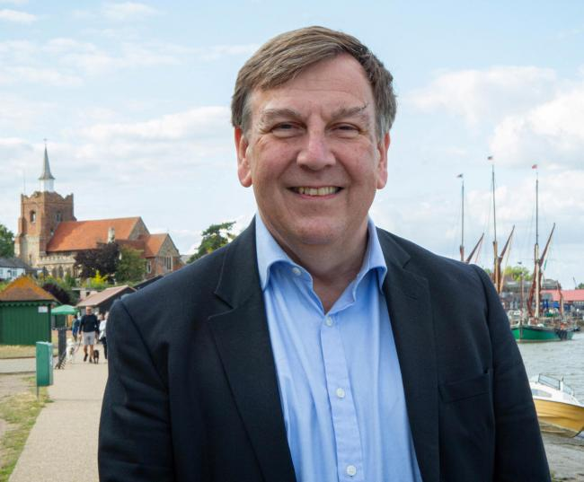 John Whittingdale. Photo by Nikki Powell