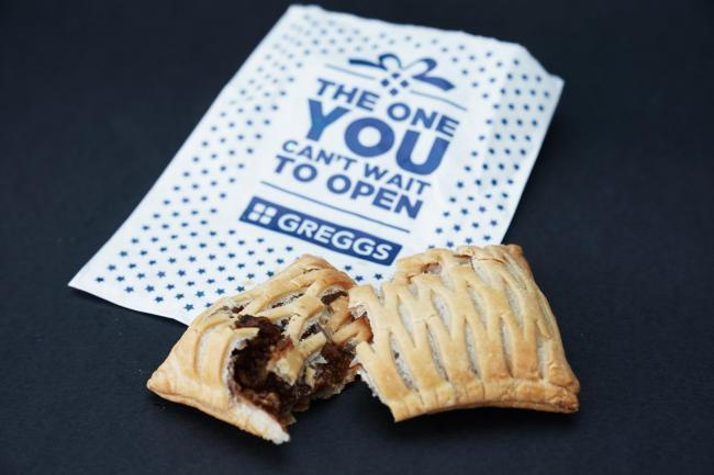 Greggs staff set for £300 windfall each after vegan sausage roll success. Pic credit: PA