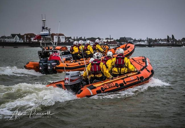 Burnham RNLI photo by Adam Prescott