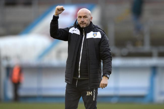 Moving on? - Colchester United head coach John McGreal has been linked with a switch to Tranmere Rovers Picture: RICHARD BLAXALL