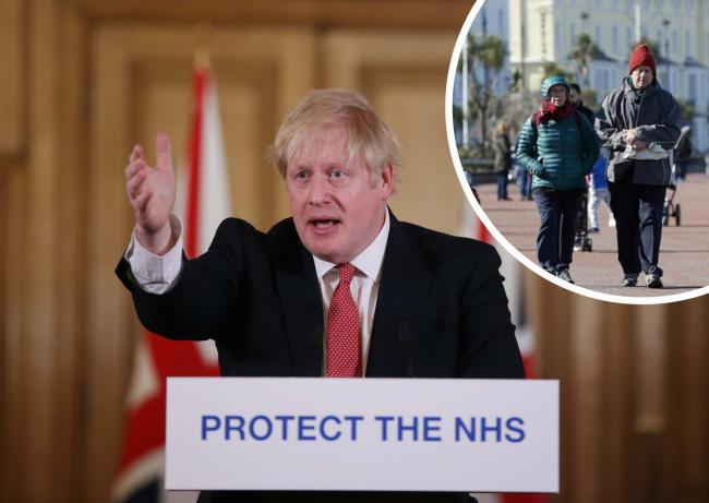 Prime Minister Boris Johnson urged Britons 'not to drop their guard'