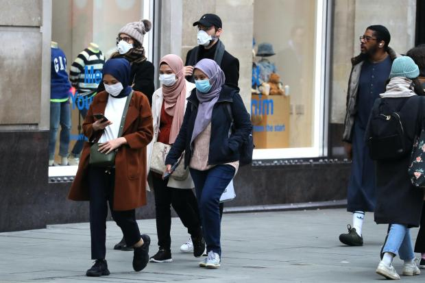 Maldon and Burnham Standard: Shoppers wearing face masks