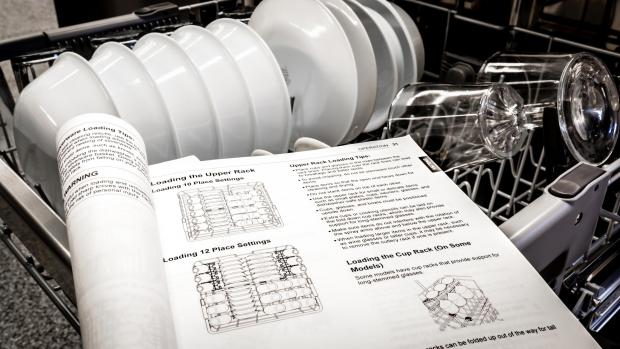 Maldon and Burnham Standard: Find your dishwasher's user manual, and use it. Yeah, it's not a compelling read, but it will show you the best ways to load. And if anything ever goes wrong, the manual will help you troubleshoot. Credit: Reviewed / Jonathan Chan