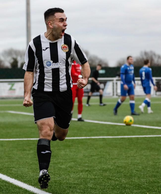Heybridge Swifts' Odei Martins Picture by ALAN EDMONDS