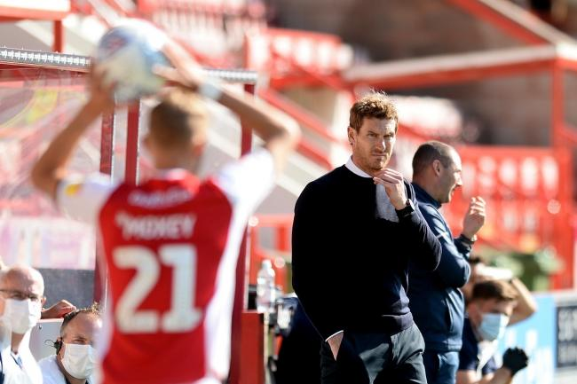 Happy - Exeter City boss Matt Taylor Picture: RICHARD BLAXALL