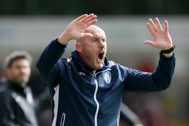 File photo dated 04-05-2019 of Colchester United manager John McGreal..