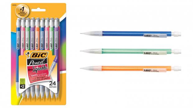 Maldon and Burnham Standard: A fun pencil means a good test, right? Credit: BIC