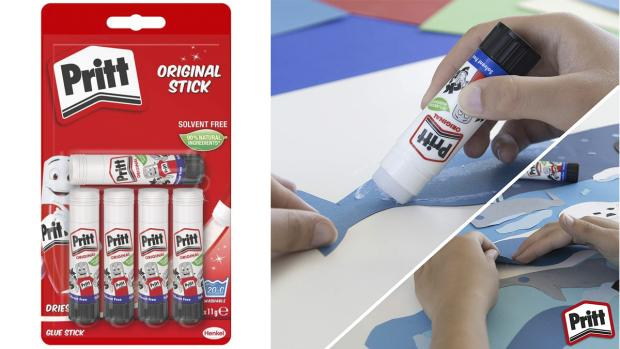 Maldon and Burnham Standard: Don't worry. These glue sticks are washable. Credit: Pritt