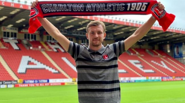 New start - former Colchester United midfielder Alex Gilbey has joined Charlton Athletic Picture: CHARLTON ATHLETIC FC