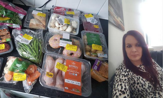 Mum of two Amy has been sharing her tricks for cutting down her food bill down