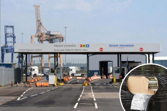 Nearly 10 million illegal cigarettes have been seized at Harwich International Port