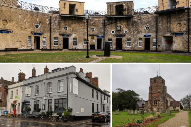 The 7 most haunted places on your doorstep