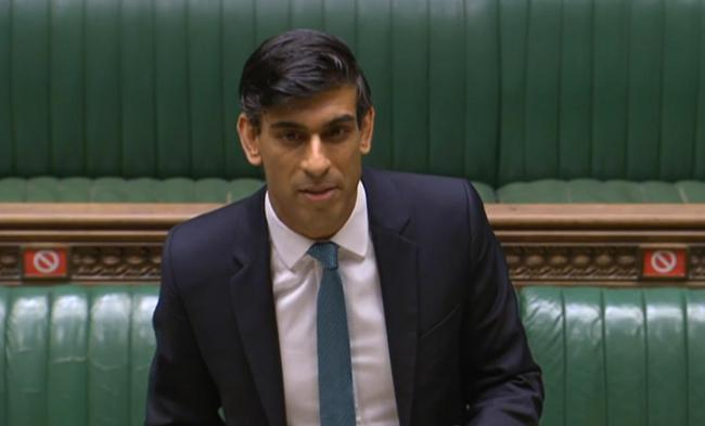 Warning- Chancellor of the Exchequer Rishi Sunak delivers his one year Spending Review in the House of Commons