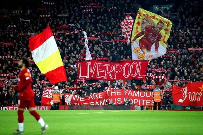Anfield may see fans soon
