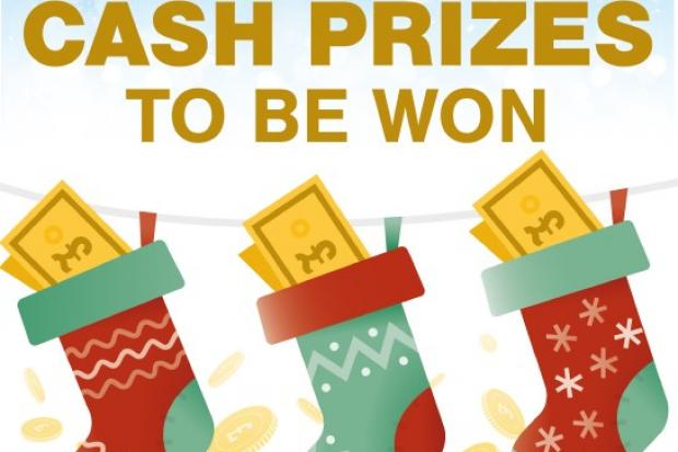 WIN: Cash for Christmas