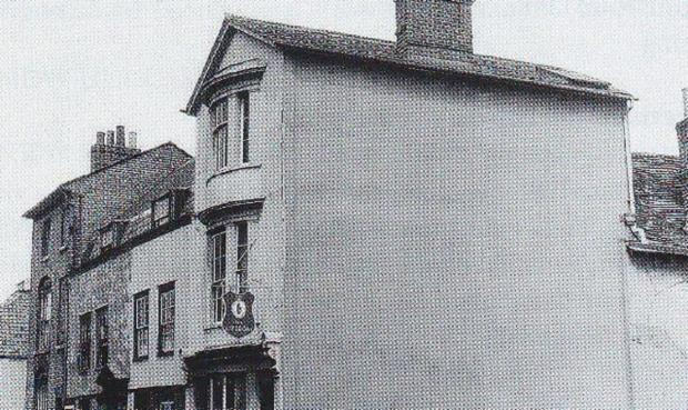Maldon and Burnham Standard: No longer afloat - The Lifeboat was in Kings Head Street. It closed in 1957 and was originally known as The Red, White & Blue Inn Picture: Source: STEVE DELVES
