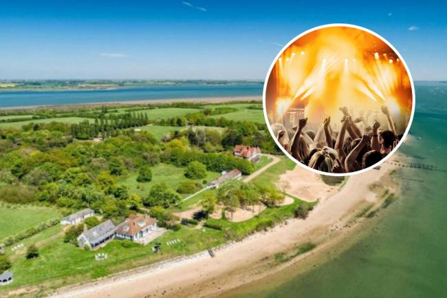 Party planners Candypants are planning One Island on Osea Island