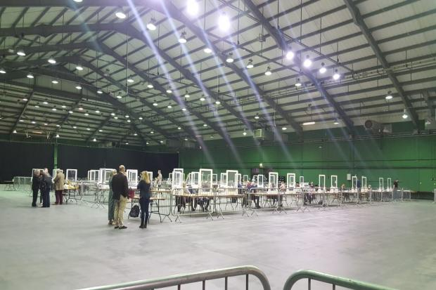The count at Five Lakes. Picture: Essex County Council