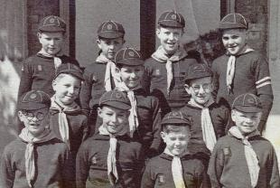 The Althorne Cub Pack in the 1950s.
