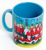Maldon and Burnham Standard: Lt Blue Mug