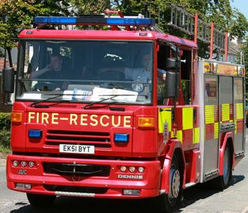 Maldon: Crews tackle spa blaze