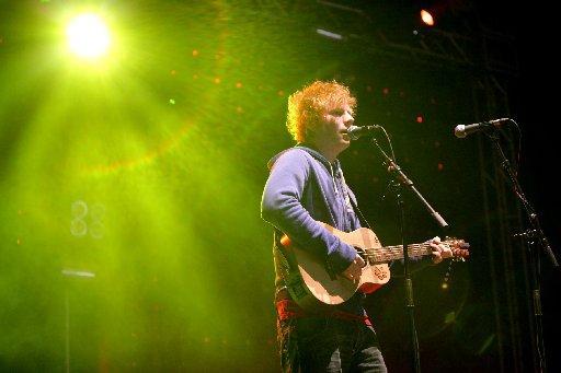 Maldon and Burnham Standard: Ed Sheeran at Camp Bestival by Mike Burnell