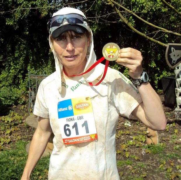 Asheldham: Runner becomes first vegan to finish gruelling desert marathon