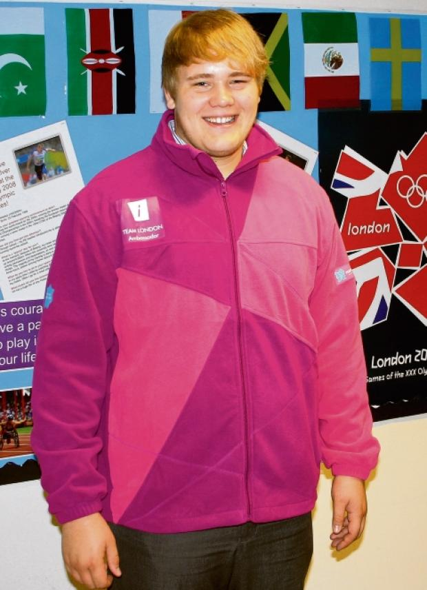 Burnham: Schoolboy is Olympic ambassador