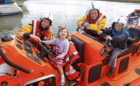 Burnham: Lifeboat station open day success