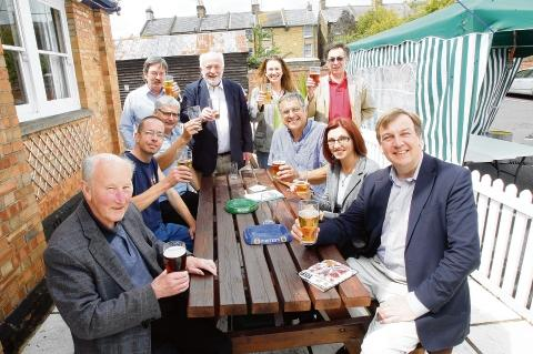 Burnham: Beer lovers drink the 8th festival dry