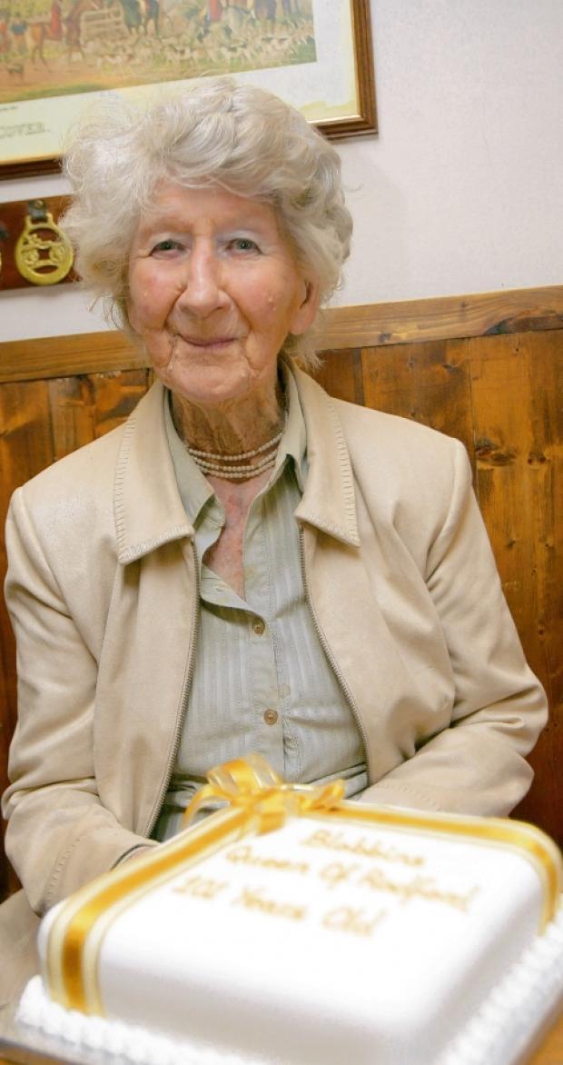 Wickham Bishops: I'm the oldest in the village at 101