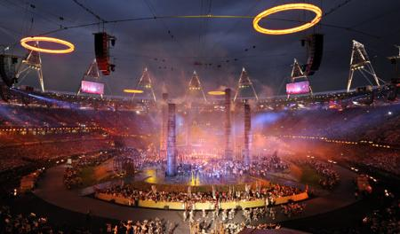Spectacular: the opening ceremony of the London 2012 Olympic Games