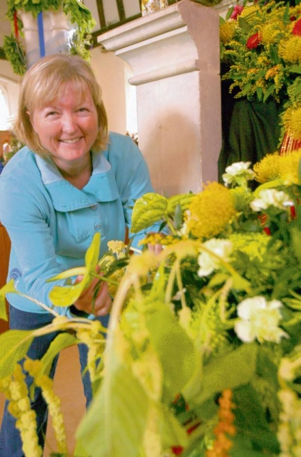 Woodham Walter: Flower show success despite pouring rain